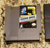 Mario Bros. Arcade Classic Series (Nintendo NES, 1986) With Nintendo Sleeve