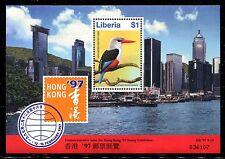 Liberia 1215 MNH 1996 Birds:Grey-headed Kingfisher-Halcyon leucocepha.x19057