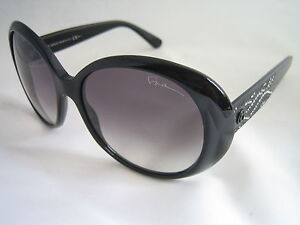 GIORGIO ARMANI LADIES SUNGLASSES GA957/S BMU JJ BLACK CRYSTALS BNWT AUTHENTIC
