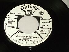 Zoot Fenster: The Man sur Page 602 / Vinaigre In My Vin [ Neuf Unplayed W/ Mfg
