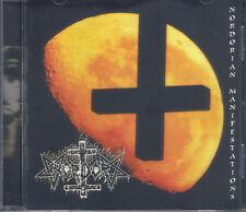 NORDOR-NORDORIAN MANIFESTATIONS-CD-Greek-black-rotting christ-zemial-agatus