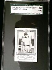 1926 Walter Johnson Sports Co MINT 9