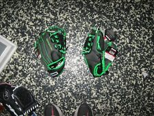 "FRANKLIN  11"" Youth Fast Pitch Pro Fielding Softball Glove, Gray/green,MSRP$30"