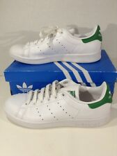 Adidas Women's Size 6 Stan Smith White Leather Tennis Shoes Sneakers ZJ-615