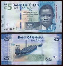 Ghana 5 Cedis  4-3-2017  Pick New   SC = UNC