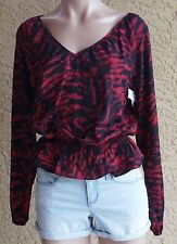 Michael Kors Top Blouse Long Sleeve Size S