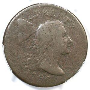 1796 S-84 R-3 PCGS F Details Liberty Cap Large Cent Coin 1c