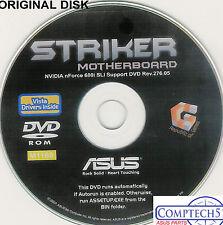 ASUS GENUINE VINTAGE ORIGINAL DISK FOR Striker series Motherboard Disk M1169