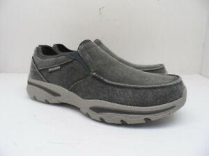 Skechers Men's Creston - Moseco Casual Shoe 65355EWW Charcoal Size 10EWW