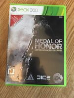 Medal Of Honor Limited Edition Xbox 360 Cib Game Mint Disk Works Complete W1