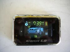 EASYCAR E8 Car Alarm System Full Color LCD 2-way Remote Rechargeable