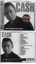 "JOHNNY CASH ""2 Complete Albums""(2 CD) Ride This Train+Hank Wiiliams 2011 NEUF"