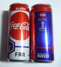 COCA COLA Coke Can MALAYSIA 330ml FIFA World Cup RUSSIA Collect 2018 FRANCE