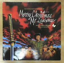 Vintage UK Pressing LP – OST of Merry Christmas Mr Lawrence By Ryuichi Sakamoto