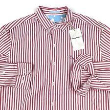 Tommy Bahama Mens Shirt Island Commuter Soft Flamingo LS T318670 New Medium M