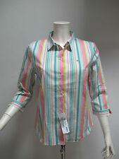 LACOSTE camicia donna manica 3/4 art.CF2559 col.BIANCO/MULTIC. tg.48 estate 2011
