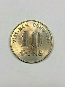 1964 S. Vietnam 10 Dong Foreign Coin #331