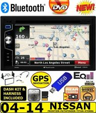 GPS NAVIGATION BLUETOOTH USB CD/DVD RADIO STEREO PKG FITS 04-14 NISSAN TRUCK/SUV