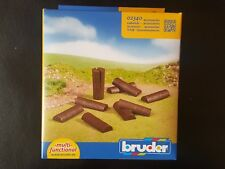 BRUDER BWORLD 02340 10 LOGS FOR LOG SPLITTER SAVE 5% WORLDWIDE FAST SHIP