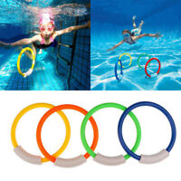 1Pcs Diving Rings Children Swimming Pool Underwater Games Kids Water Play Toys
