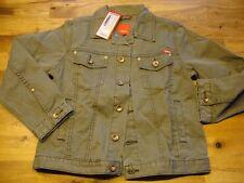 s.Oliver Jeans Jacke Olive Neu Etikett 128/134 Top Style Sir Oliver NP 39,95 €