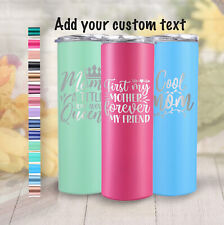 20 oz Mother's Day Gift Tumbler Cup Personalized Gift Coffee Drinkware