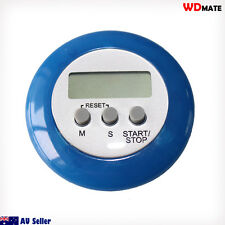 Timer Alarm Mini Round LCD Digital Home Cooking Kitchen Count down UP 07006001