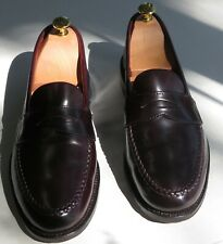 ALDEN for Brooks Brothers, SHELL CORDOVAN Penny Loafer: 8.5E