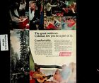 1972 Coleman Camping Cooler Ice Chest Vintage Print Ad 5372