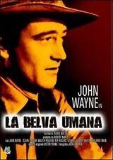 Dvd LA BELVA UMANA John Wayne  ......NUOVO