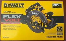 "New Dewalt DCS578B Flexvolt 60 Volt Max 7-1/4"" Brushless Circular Saw W/ Blade"