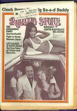 Rolling Stone 122 CHUCK BERRY Curtis Mayfield PIMP Joe Conforte Boz Scaggs Drugs