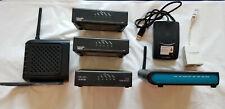 Joblot of Belkin ADSL Wireless Routers Cisco Modems Filter USB Hub, IEEE 802.11n