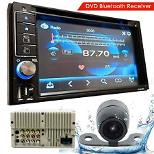 SoundXtreme ST-6527BT 2 Din DVD Bluetooth Receiver with DVD/CD/MP3 + Rear Camera