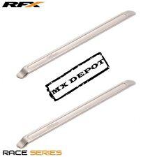 "RFX RACE SERIES DUAL SPOON 9.5"" TYRE LEVER SET PAIR MOTOCROSS MX TYRE LEVERS"