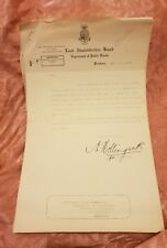 Land Administration Board, Department of Public Lands Letterhead 1930