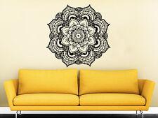 Mandala Wall Decal Yoga Studio Vinyl Sticker Namaste Bohemian Boho Bedroom NV117