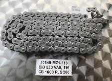 OEM X-Ring Kette DID530VA8, 50VA8, 116 Glieder, Yamaha YZF R1, RN12, 04-05, neu