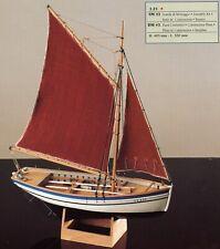 COREL SM43 BARCA Modello SLOUP Imbarcazione peschereccio francese scala 1:25