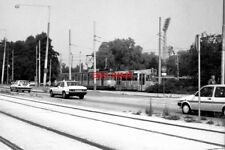 PHOTO  BASEL TRAM 1988 WATERGRAAFSMEER TRAM NO 632 AND 815 ON ROUTE 9