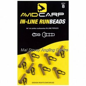 Avid Carp In Line Run Beads