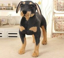 NEW CUTE STANDING ROTTWEILER DOG SOFT PLUSH CUDDLY TOY REAL LOOK UK SELLER 60cm