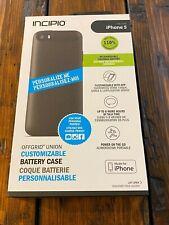 Genuine Incipio iPhone 5 Offgrid union customizable battery case Rare Brand NEW