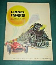 1963 LIONEL TRAINS POSTWAR CATALOG, VERY GOOD