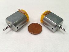 2 pieces 130 DC Hobby Mini Motor 12500 RPM 6V with Varistor for Digital Products