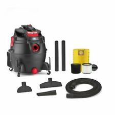 Shop Vacuum Rear Blower Port Wet Dry Cleaning Home Office Clean 16-Gallon 6.5-Hp