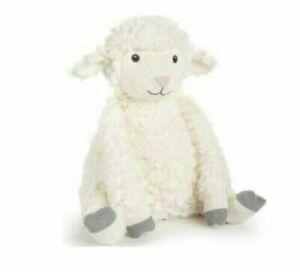 "First Impressions Macy's Cream Gray 13"" Lamb Sheep Plush Stuffed Animal Toy Baby"