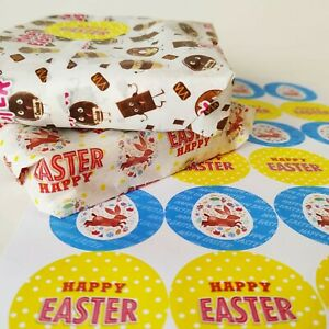 Greaseproof Paper Sheets Parchment Non Stick Food Wrapping Paper Easter Design