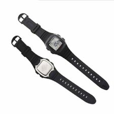 Silicone Watch Band Stainless Steel Pin Buckle Watchband for Casio W-96H RY