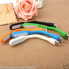 5pcs mix color Flexible USB LED Light Lamp For Computer Laptop PC Powerbank